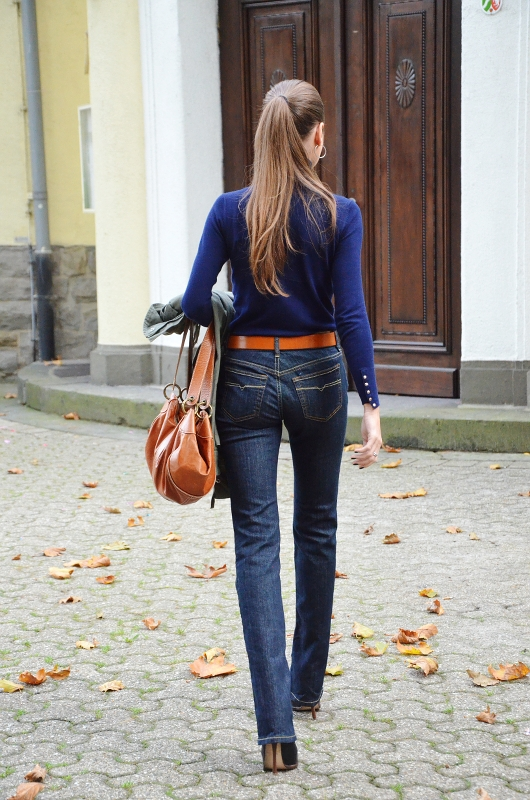 Outfit , Bootcut Jeans , 1