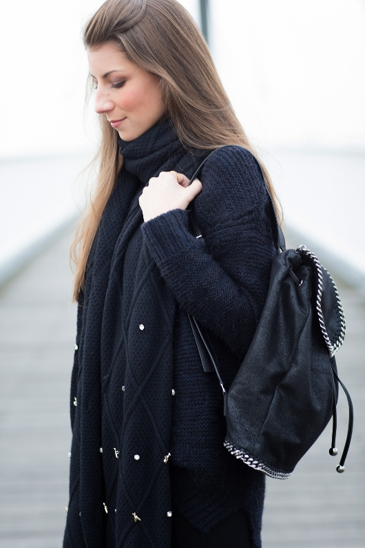 backpack stella mccartney outfit fashionblog