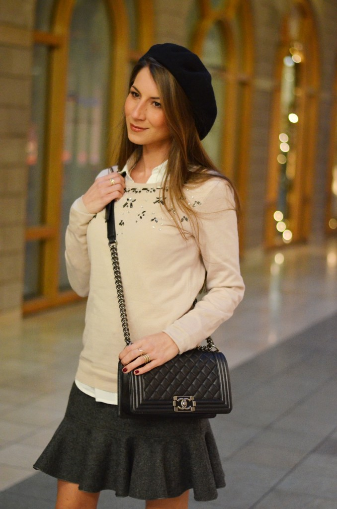 chic outfit winter