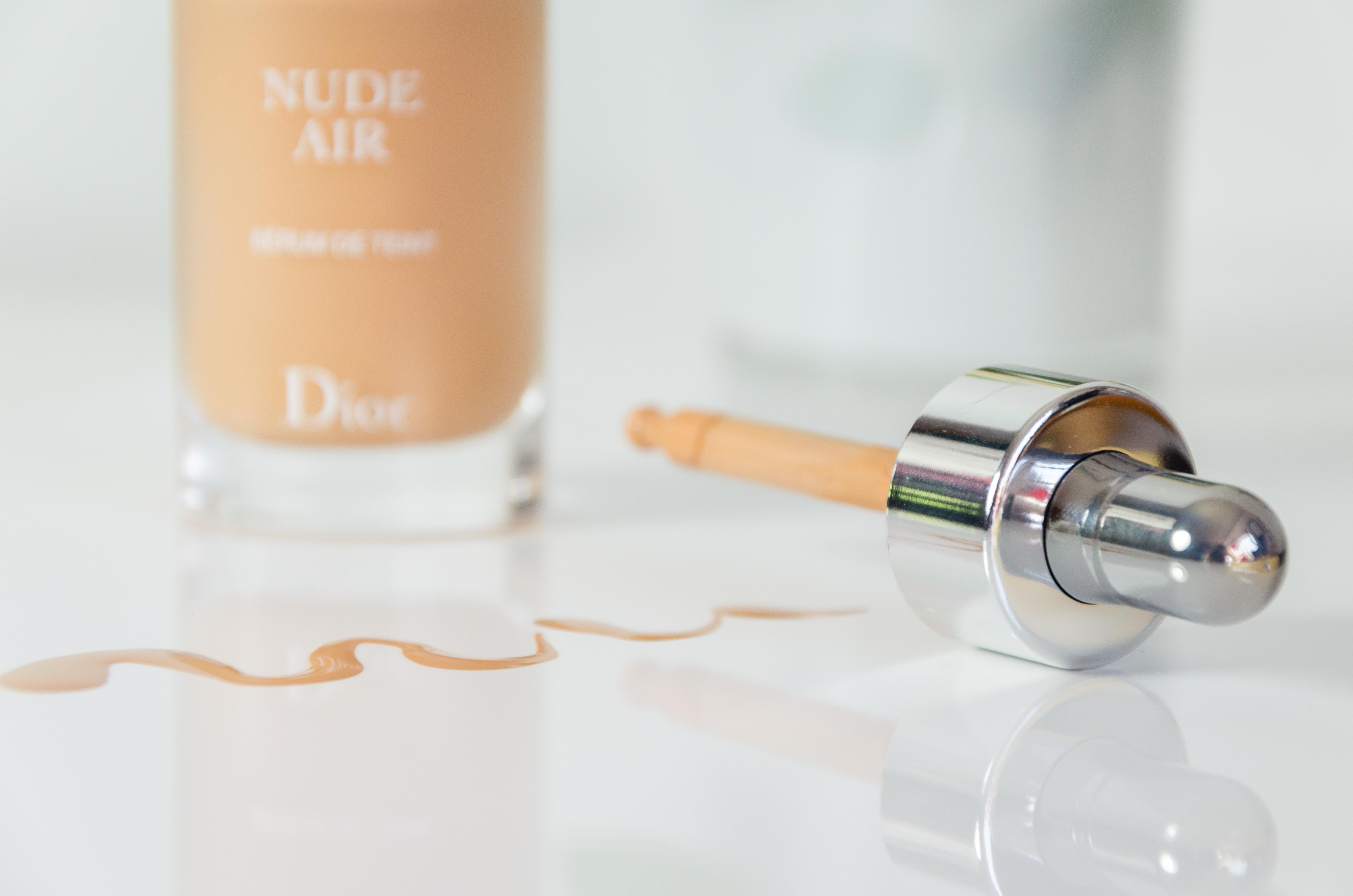 dior nude air make up