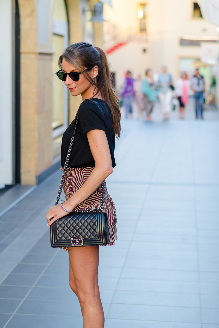 silk skirt isabel marant etoile outfit summer look
