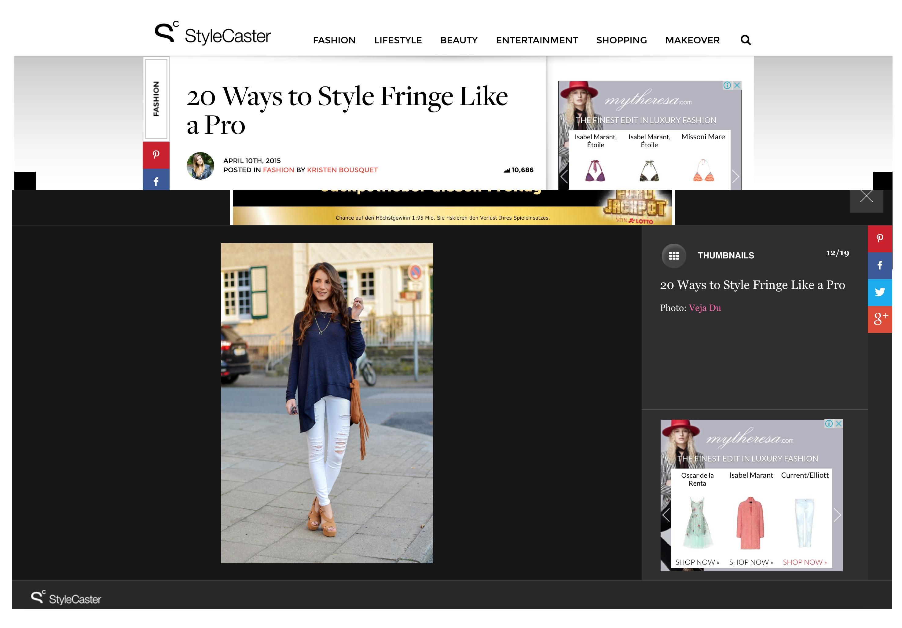 stylecaster how to wear fringe like a pro