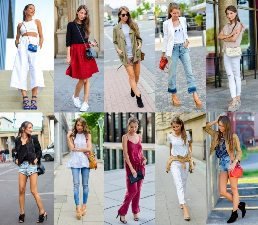 OUTFIT REVIEW JULY: WHAT'S YOUR FAVORITE?