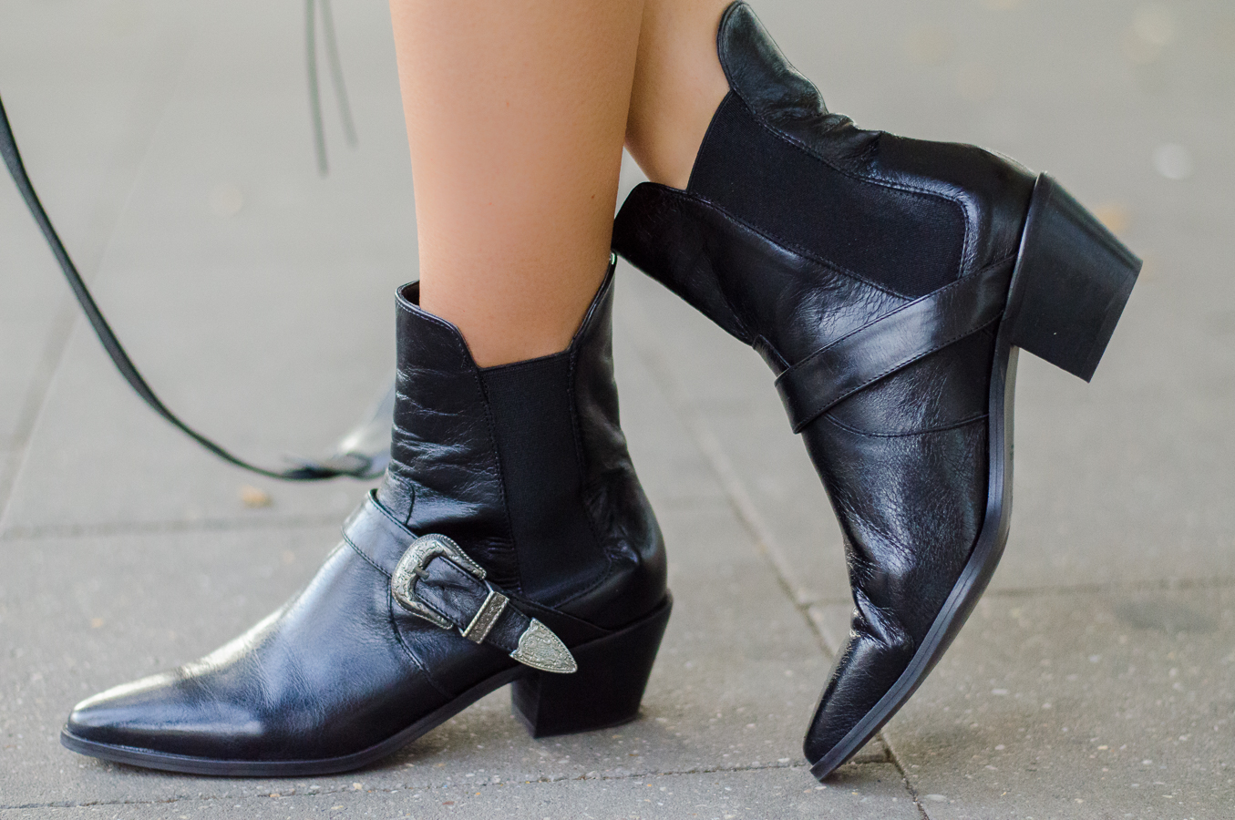 ankle boots zara schwarz