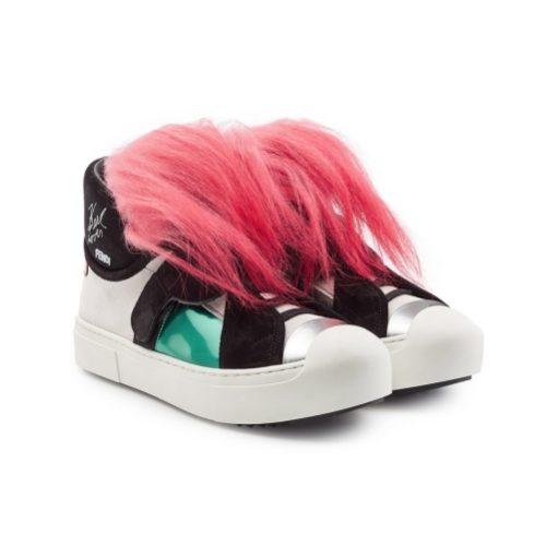 Sneaker Art bei Fendi