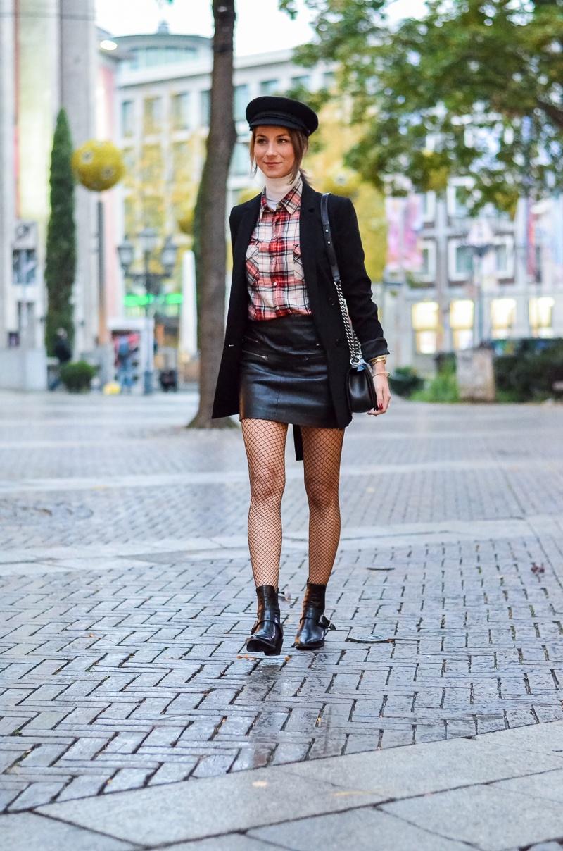 Outfit Netzstrumpfhose kombinieren 5