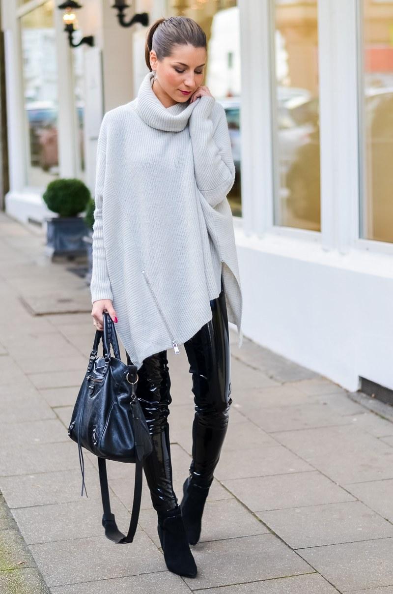 Outfit :: Lack Hose elegant kombinieren