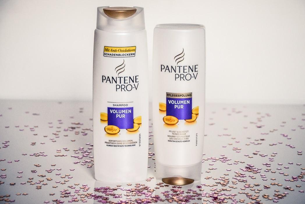 Pantene Pro-V Volumen Pur Shampoo und Pflegespülung