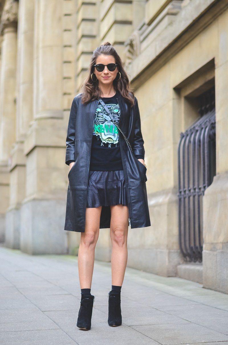 Outfit-Kenzo-Sweater-Chanel-Boy-Bag-Half-Bun (4 von 25)