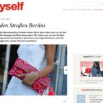 veja du, myself, presse, fashion week, berlin