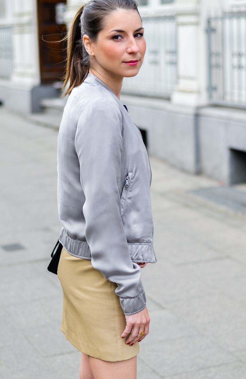 OUTFIT: NEW IN – DRYKORN BLOUSON & 2NDDAY LEDERROCK