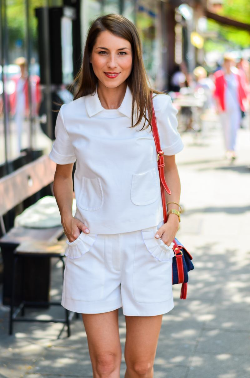 all , white , everything , summer , weißes , weisses , Sommer , outfit, look , style , blog