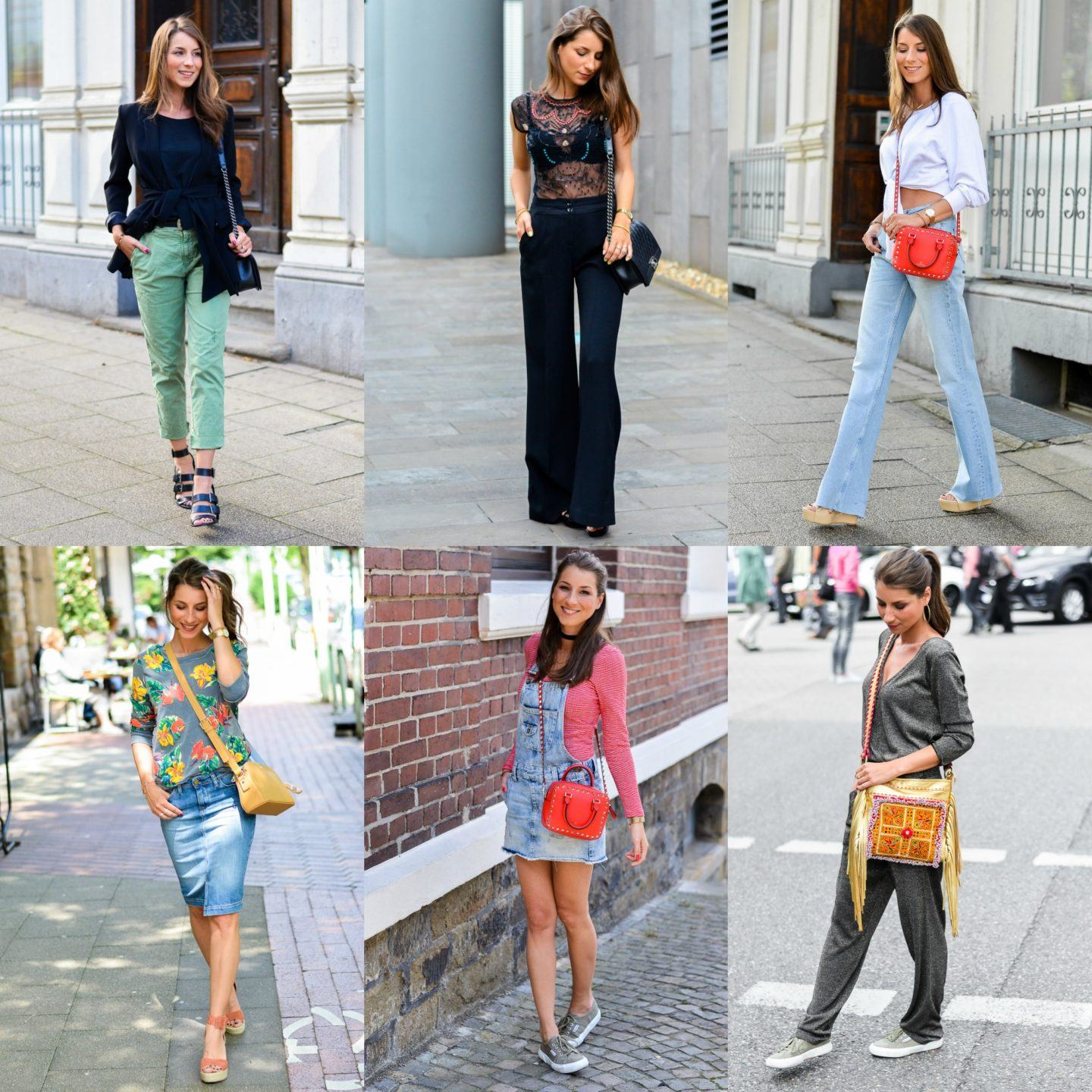 OUTFIT REVIEW JUNE :: WHAT'S YOUR FAVORITE?