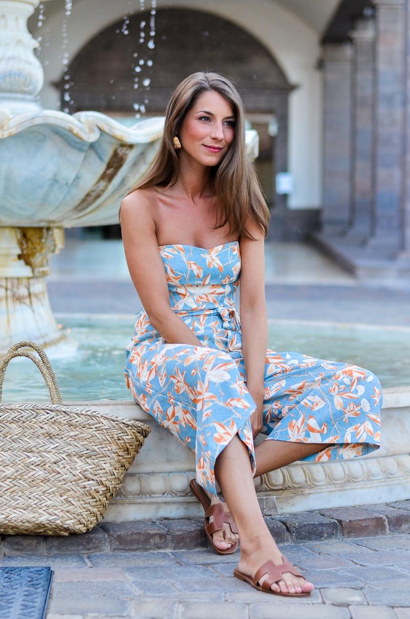 culotte jumpsuit hm Sommer hermes oran sandalen