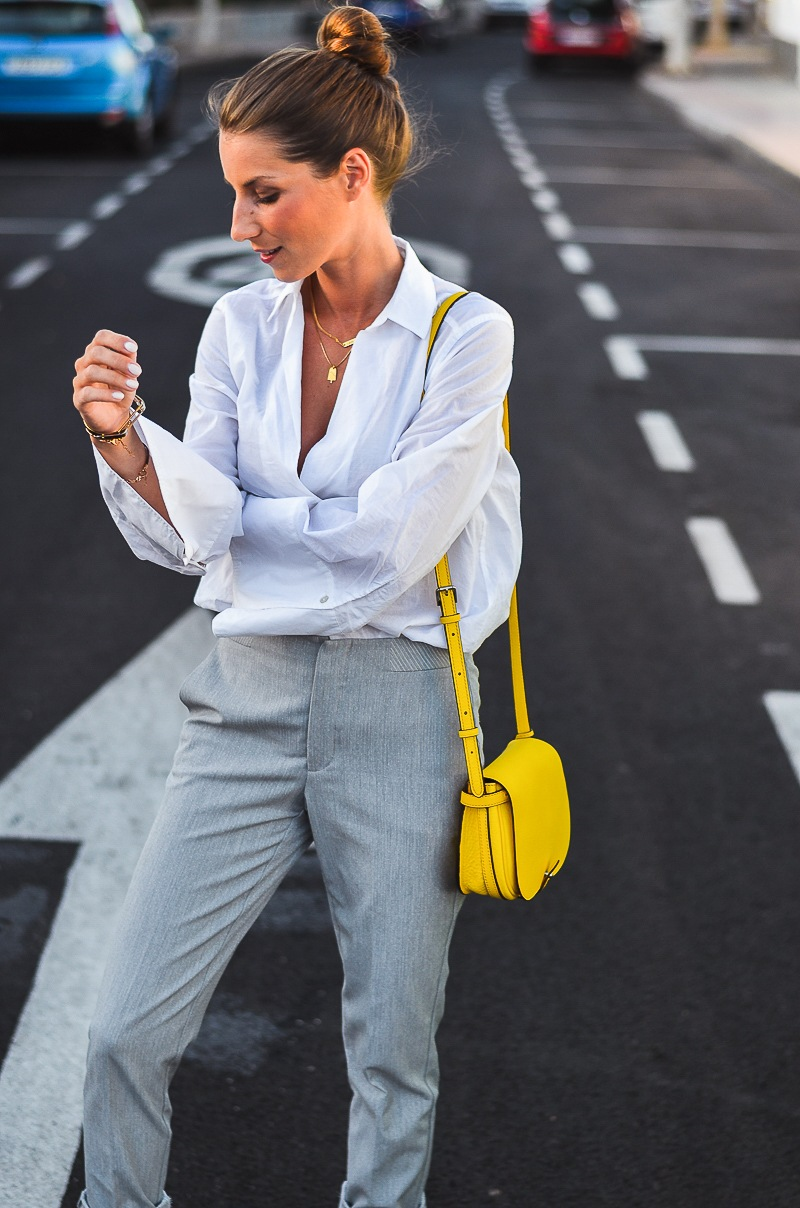 Sunny Days Sunny Bag :: Farbtupfer gelbe Tasche