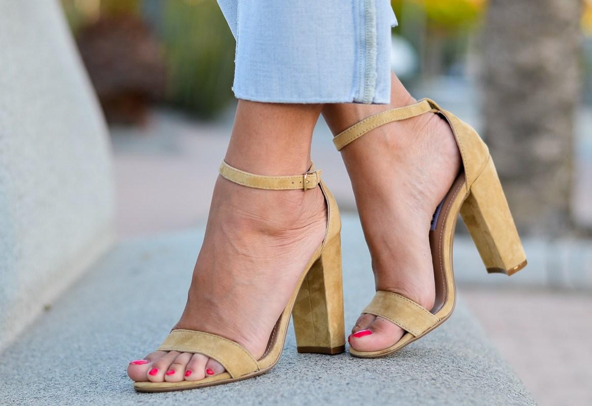 steve madde heels sand