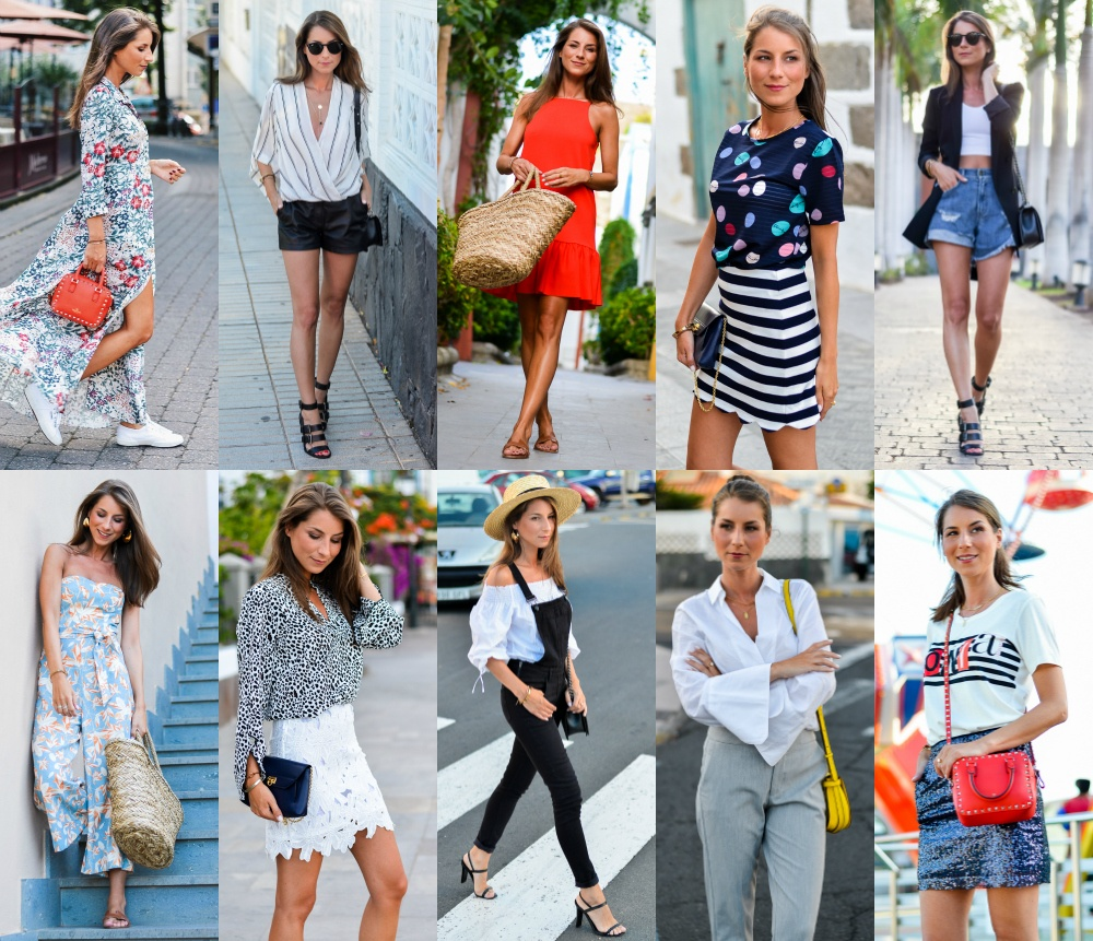 Outfit Review July :: What's Your Favorite?