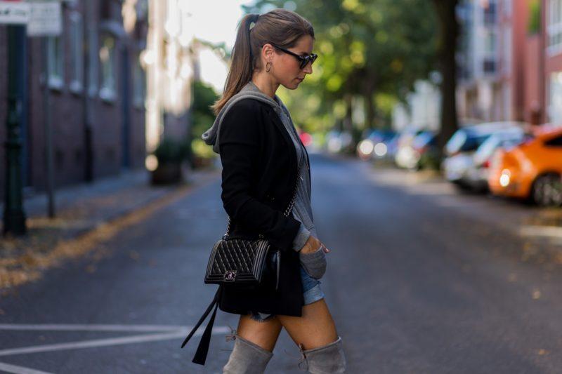 lieblingsstiefel meine grauen overknees hoodie v j du modeblog aus deutschland fashion. Black Bedroom Furniture Sets. Home Design Ideas