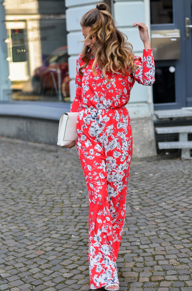 ivyrevel roter jumpsuit