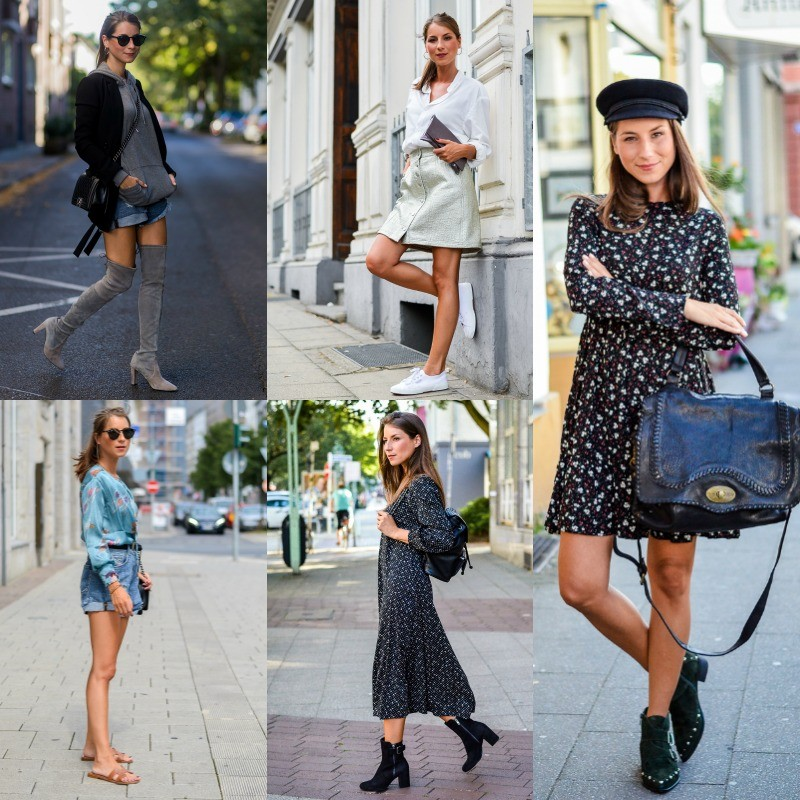Outfit Review August :: What's Your Favorite?