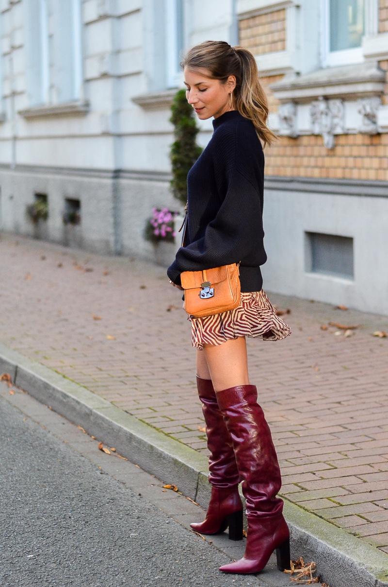 Ladies Fashion Knee High Boots