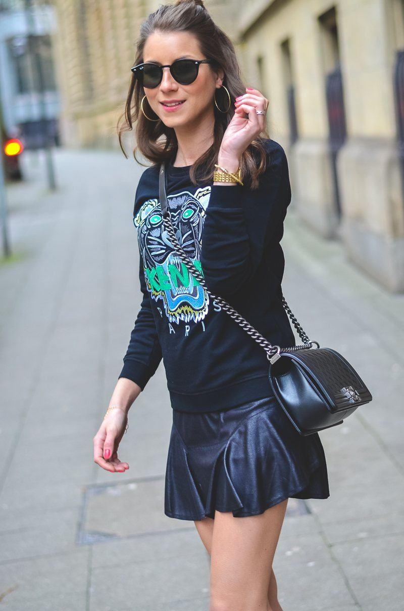 OUTFIT: NEW KENZO SWEATER