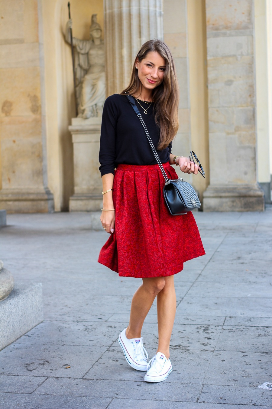 Outfit :: Fashion Week Berlin – Franziska Michael skirt