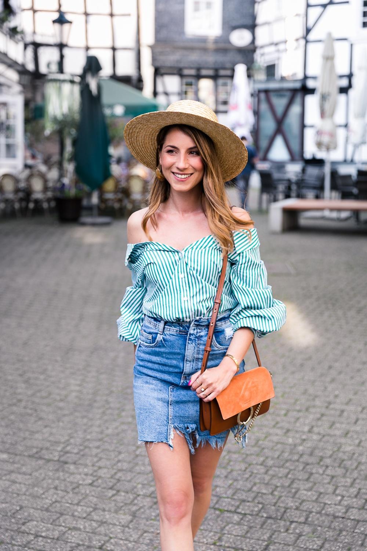 Green Stripes | Véjà Du Modeblog aus Deutschland Fashion