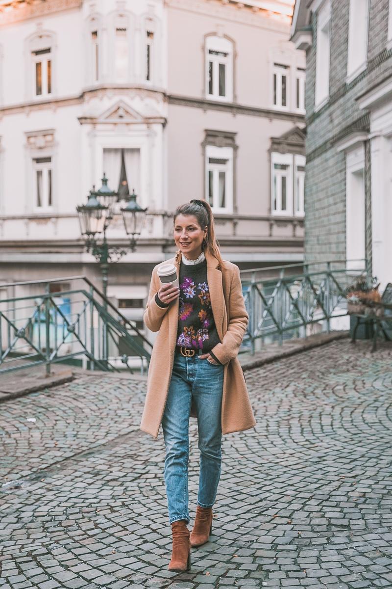 Zara Camel Coat & ein bisschen Vintage