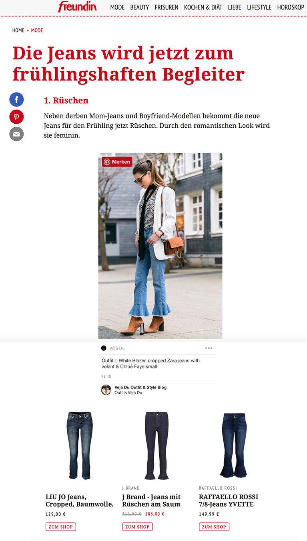 freundin magazin street style feature stephanie van klev