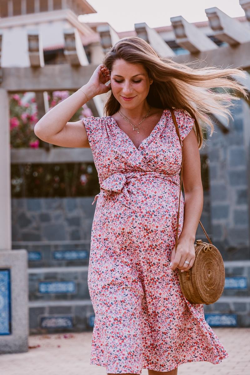 kleid schwangerschaft sommer umstandsmode mode blog inspiration outfit veja du 10