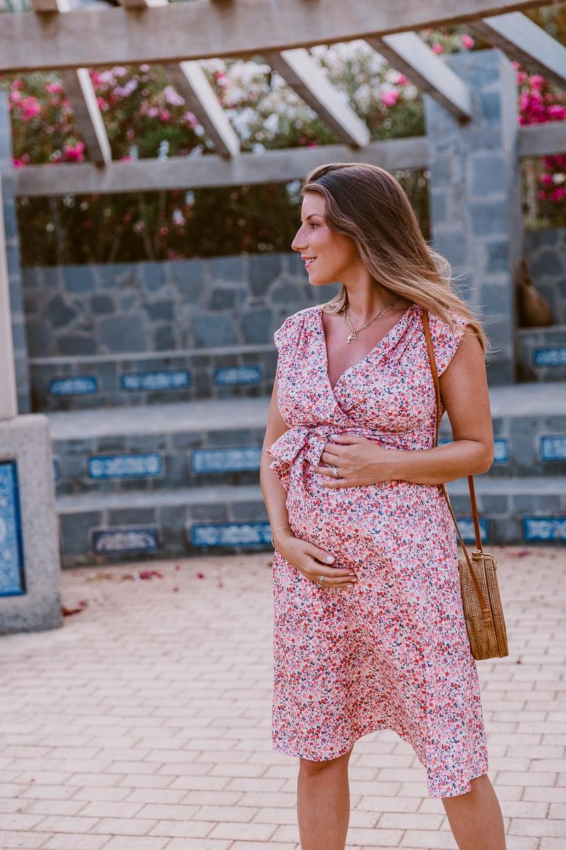 kleid schwangerschaft sommer umstandsmode mode blog inspiration outfit veja du 5