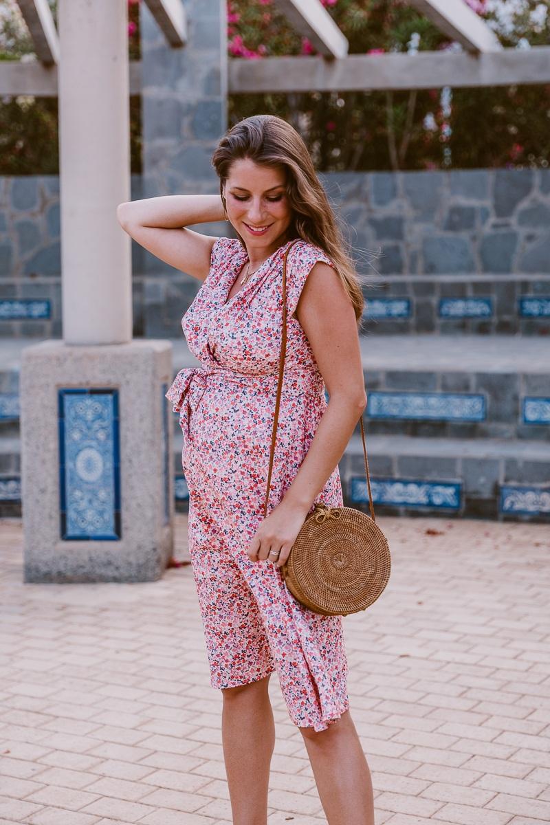 kleid schwangerschaft sommer umstandsmode mode blog inspiration outfit veja du 7