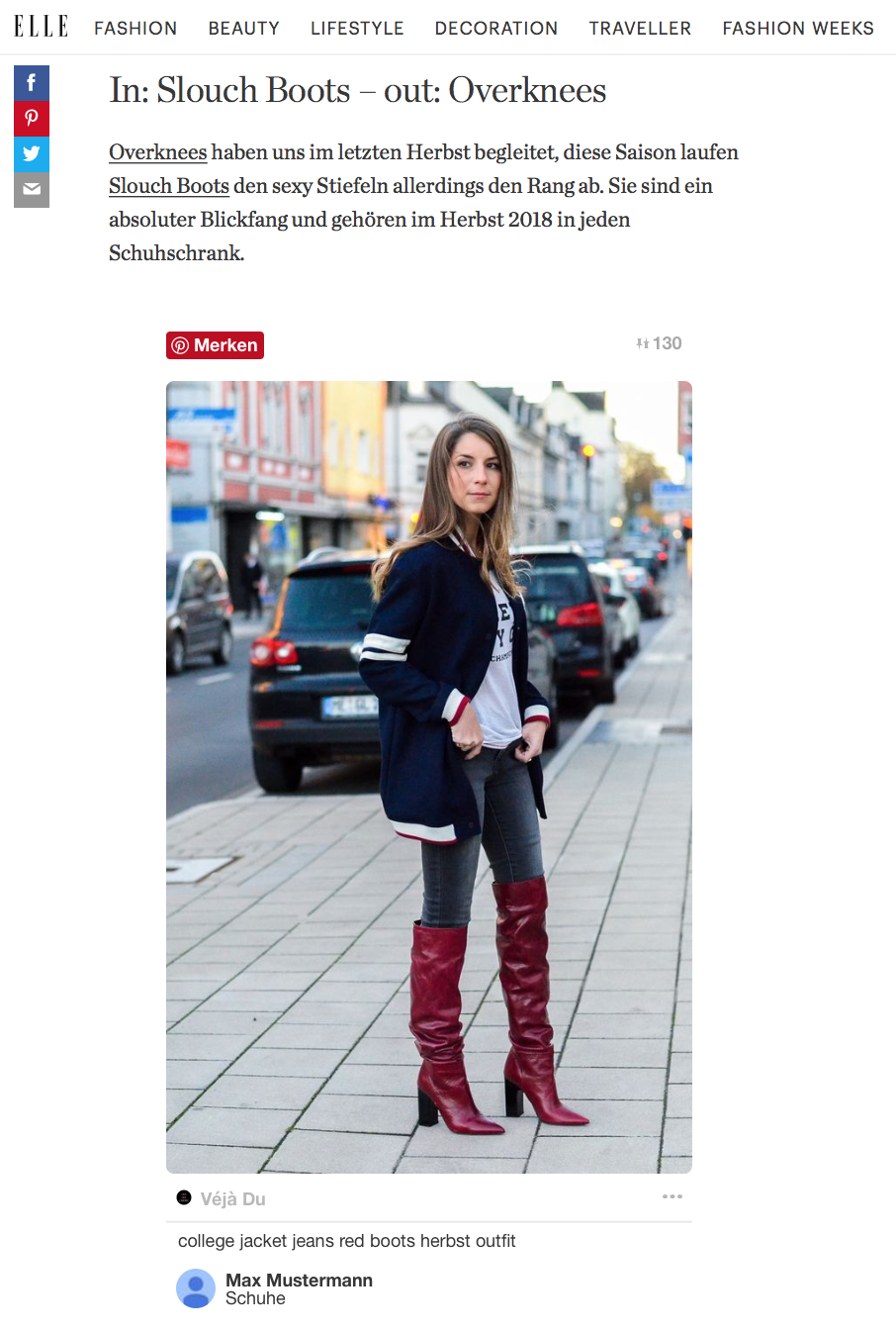 freundin magazin street style feature stephanie van klev